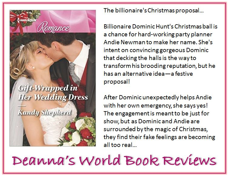 Gift Wrapped In Her Wedding Dress by Kandy Shepherd