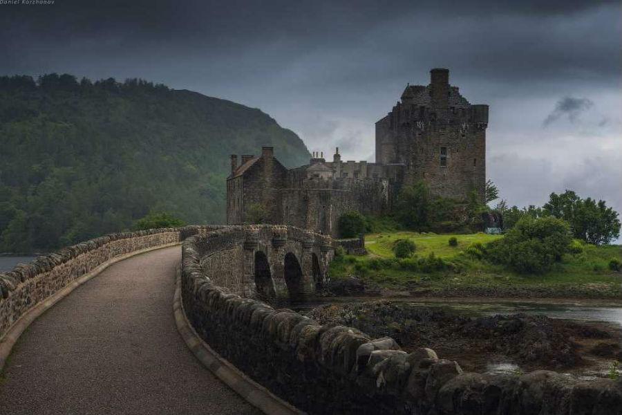 Замок Эйлен Донан (Eilean Donan Castle)