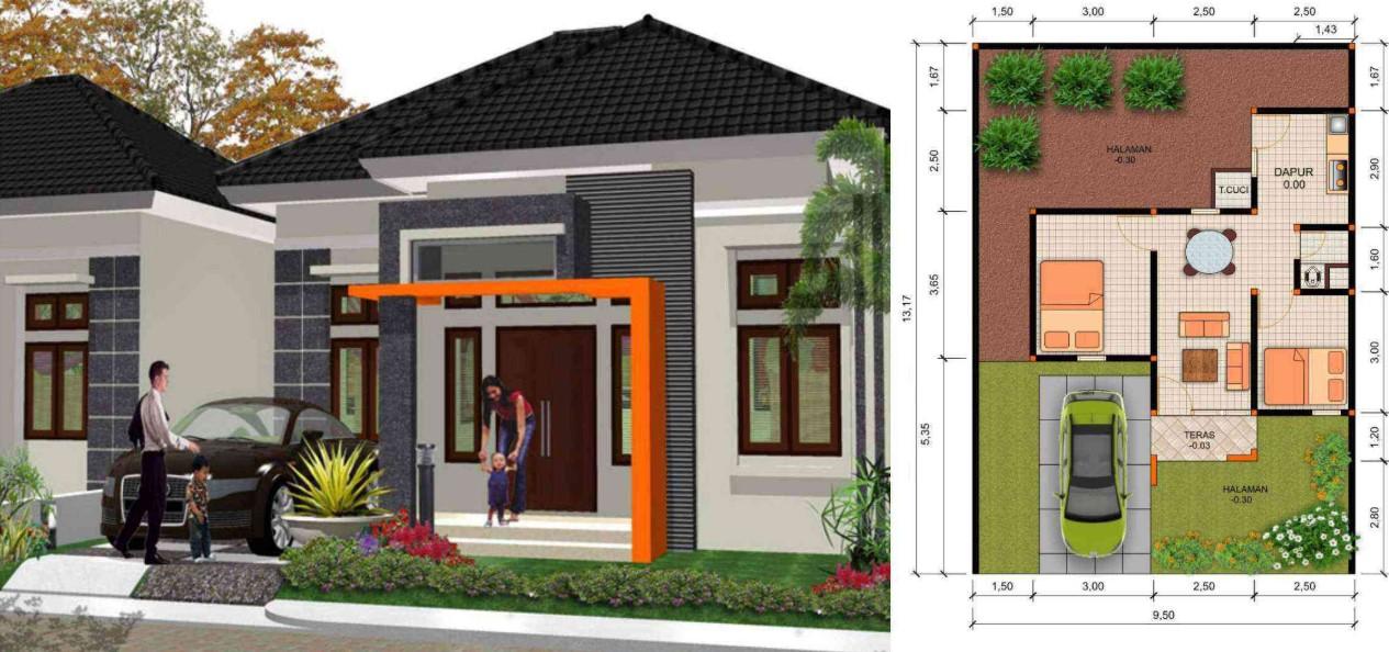 Inspirasi Rumah Minimalis Berdasarkan Tipe Hunian