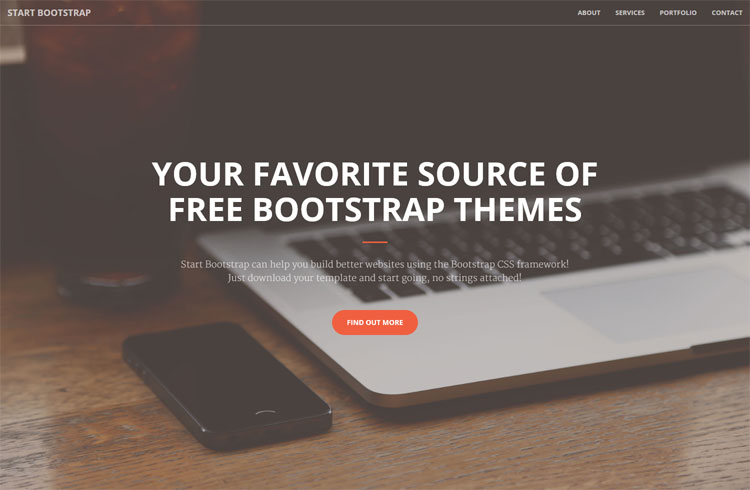 Creative – Free Responsive Bootstrap Template