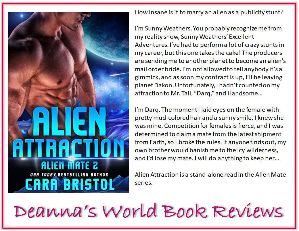 Alien Attraction by Cara Bristol blurb