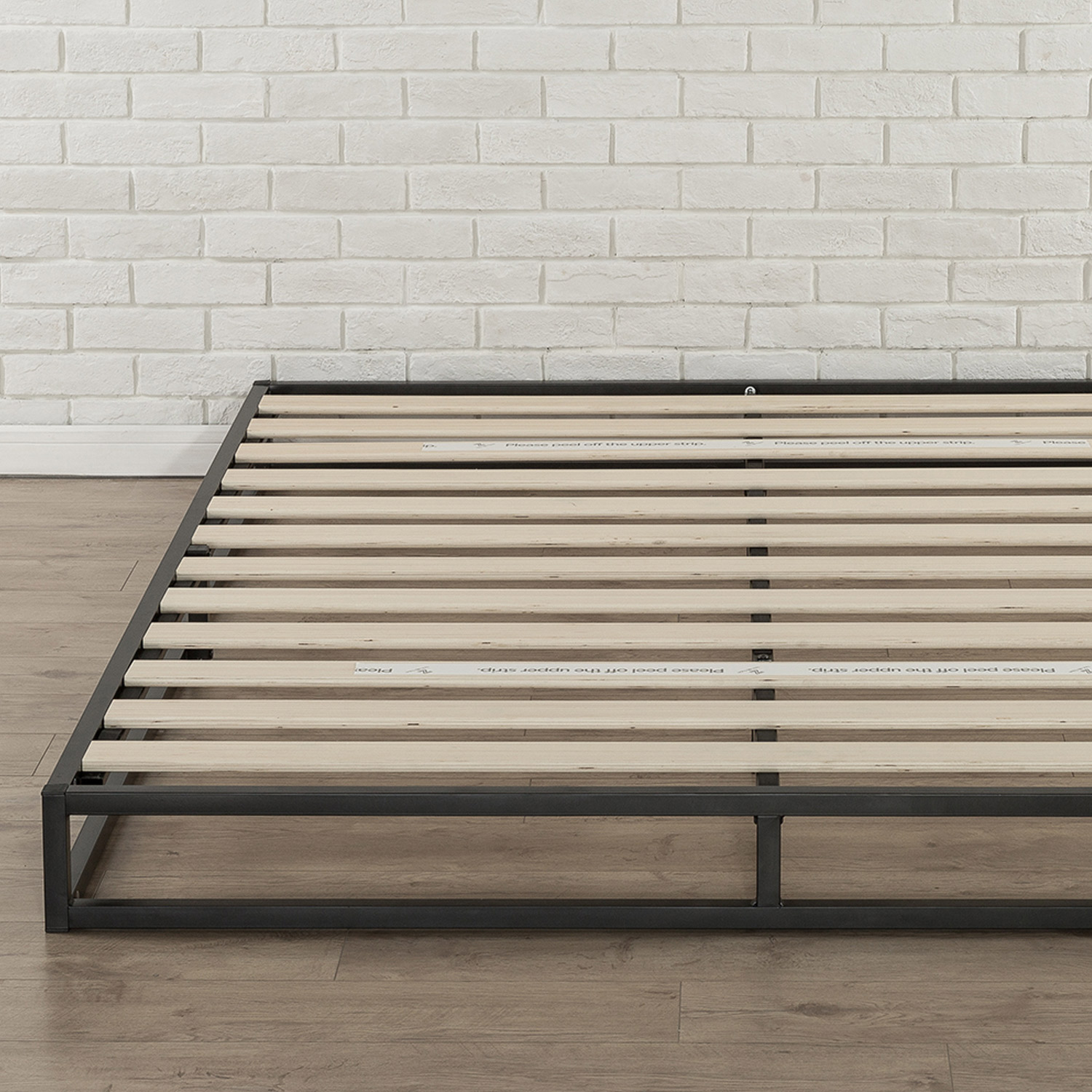 Zinus-Joesph-SINGLE-DOUBLE-QUEEN-KING-Metal-Low-Bed-Base-Mattress-Frame-Timber thumbnail 23