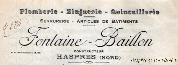 Entreprise Fontaine Baillon