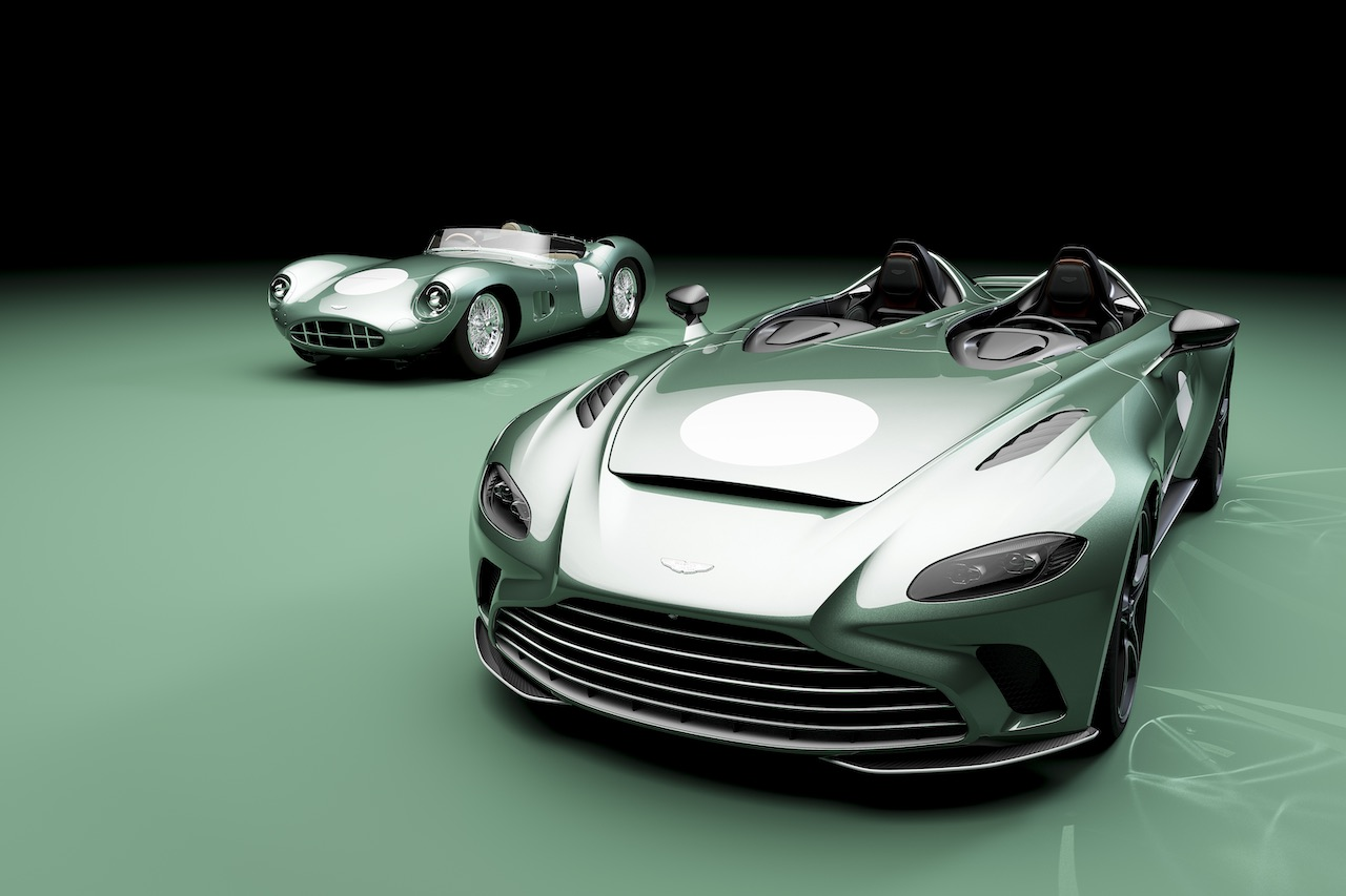 Aston Martin reveals DBR1 specification for V12 Speedster