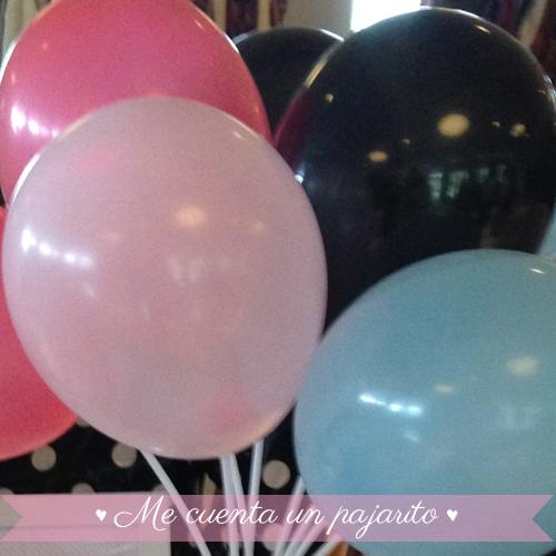 Globos cumpleaños para la fiesta personalizada