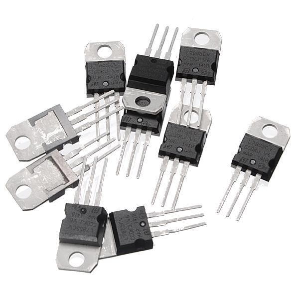 New 50 Pcs X Lm7805 L7805 7805 5v 15a Ic Voltage Regulator To220