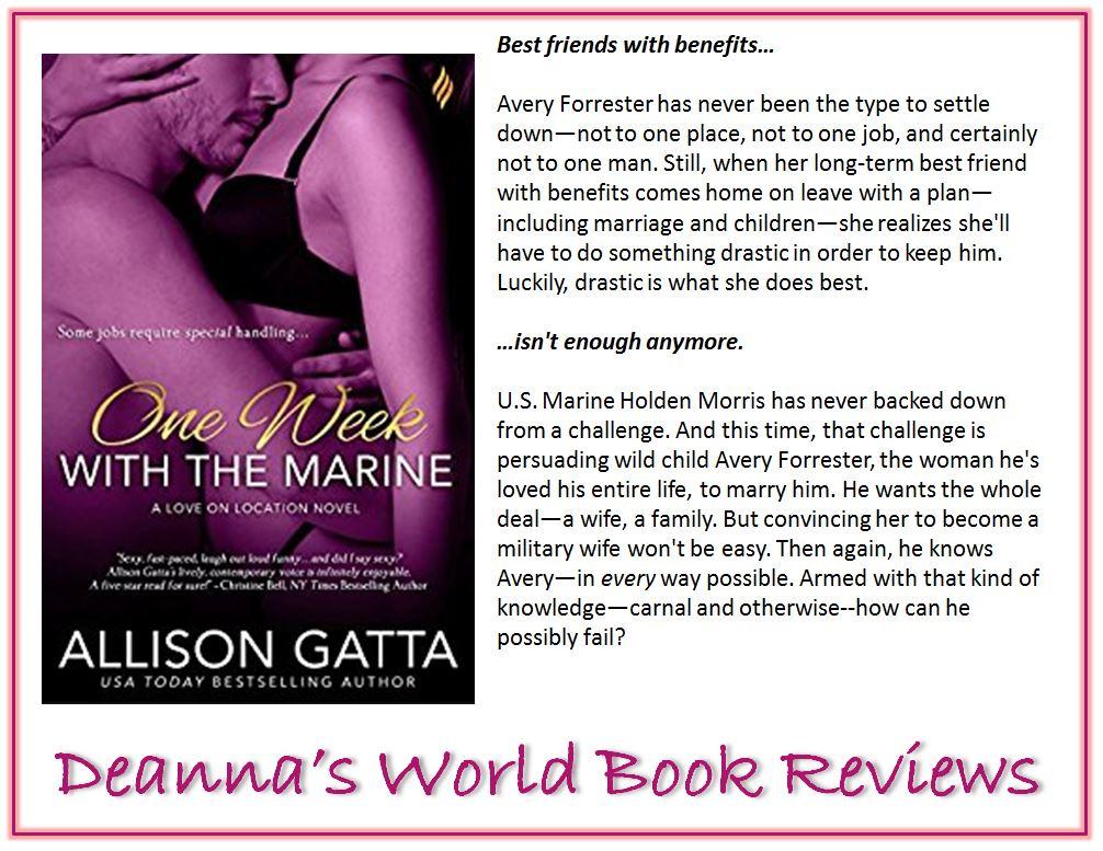 One Night With The Marine by Allison Gatta blurb