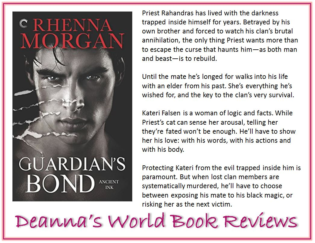 Guardian's Bond by Rhenna Morgan blurb