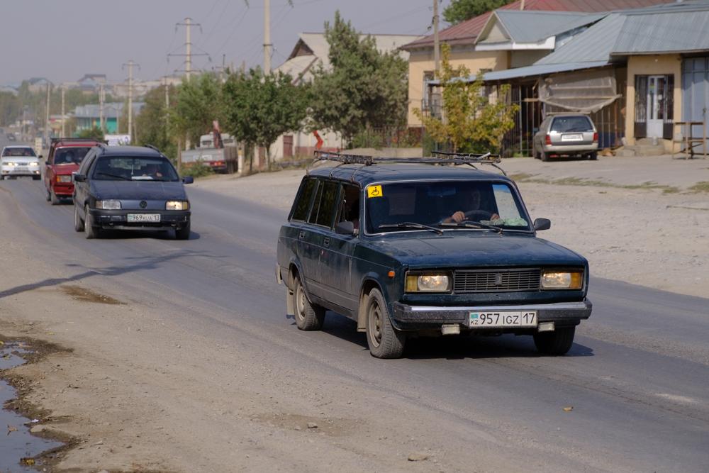 een straat in sayram