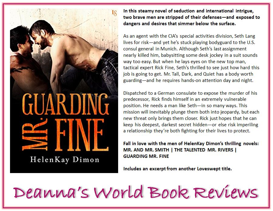 Guarding Mr Fine by HelenKay Dimon blurb