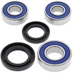 Rear Wheel Bearings and Seals Kit Suzuki RM125 1995-1999