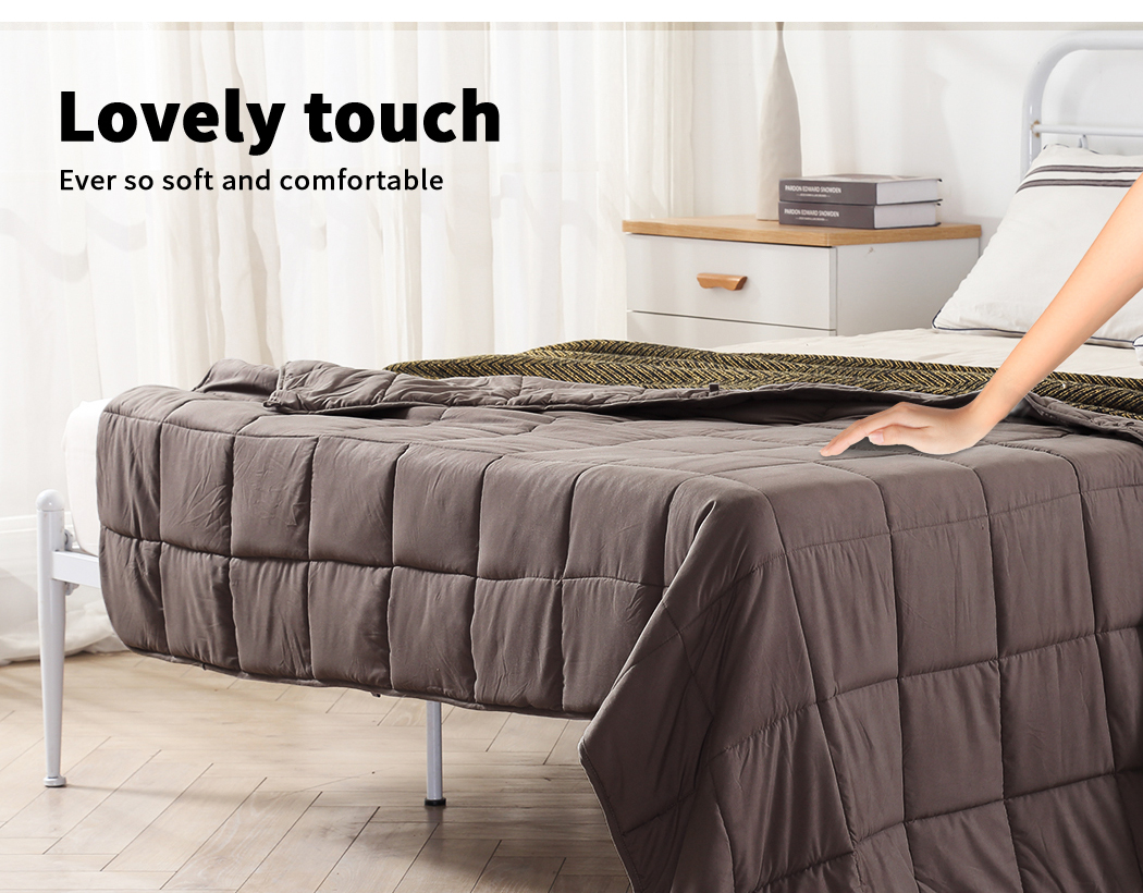 thumbnail 66 - DreamZ Weighted Blanket Heavy Gravity Deep Relax 5/7/9KG Adult Kid Double Queen