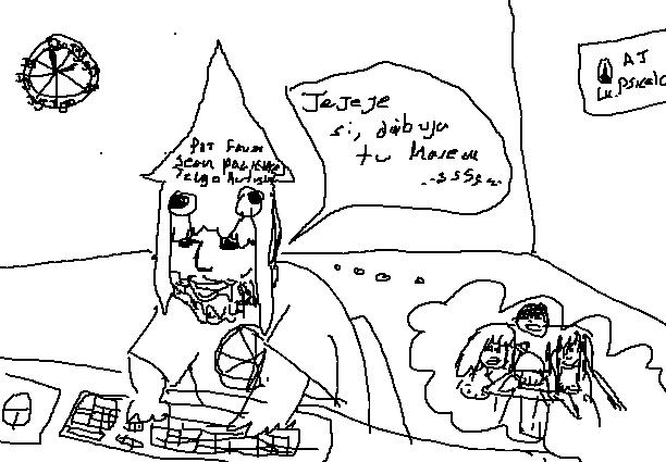 Dibujos feos de paint parte 3: Cruzados del pixelito blanco Aj