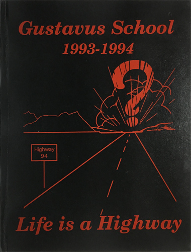 For sale: 1993-1994 Gustavus Alaska school                   yearbook.