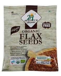 24 Mantra Organic Flax Seeds