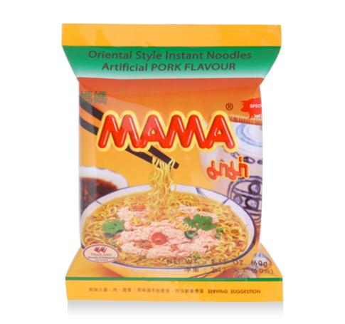 Mama Instant Noodles Pork Flavoured