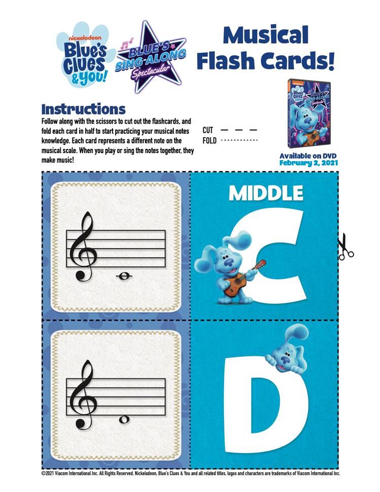 Blue's Clues Printables