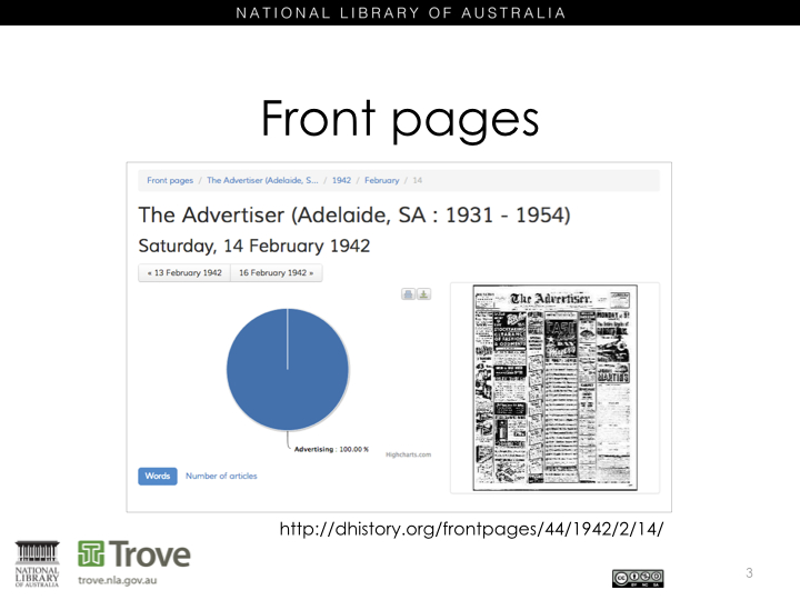 The Front Page - Adelaide Advertiser - Before