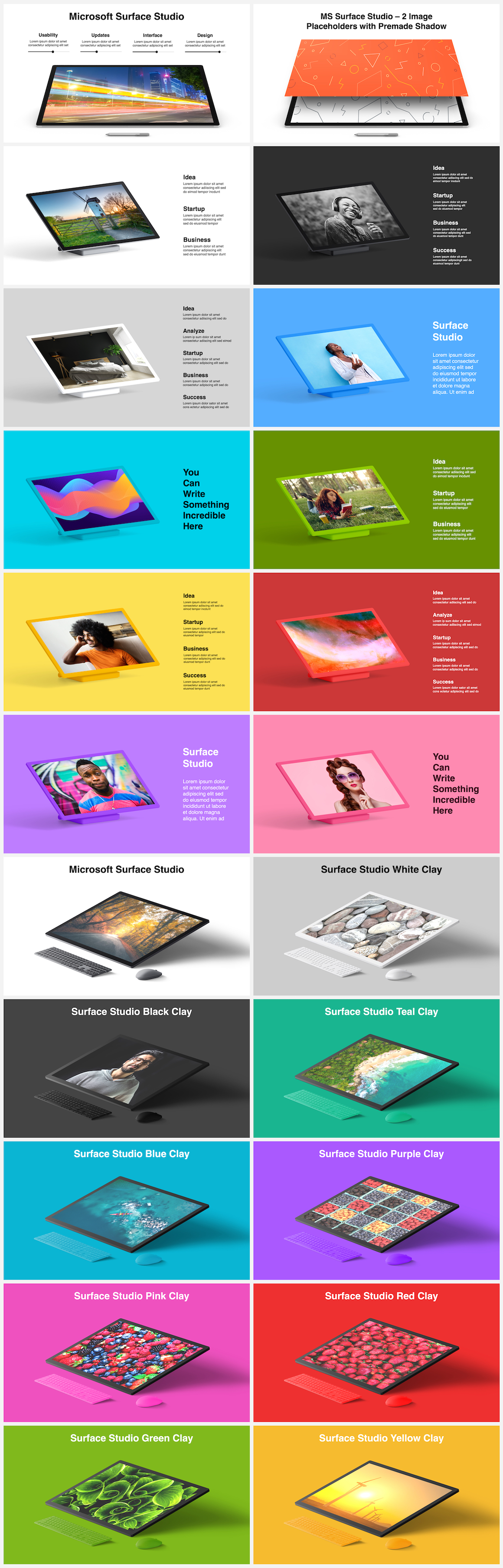Huge Infographics Bundle! Lifetime Updates! PowerPoint, Photoshop, Illustrator. - 71