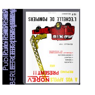 Publicité 1969 BERLIET pompiers