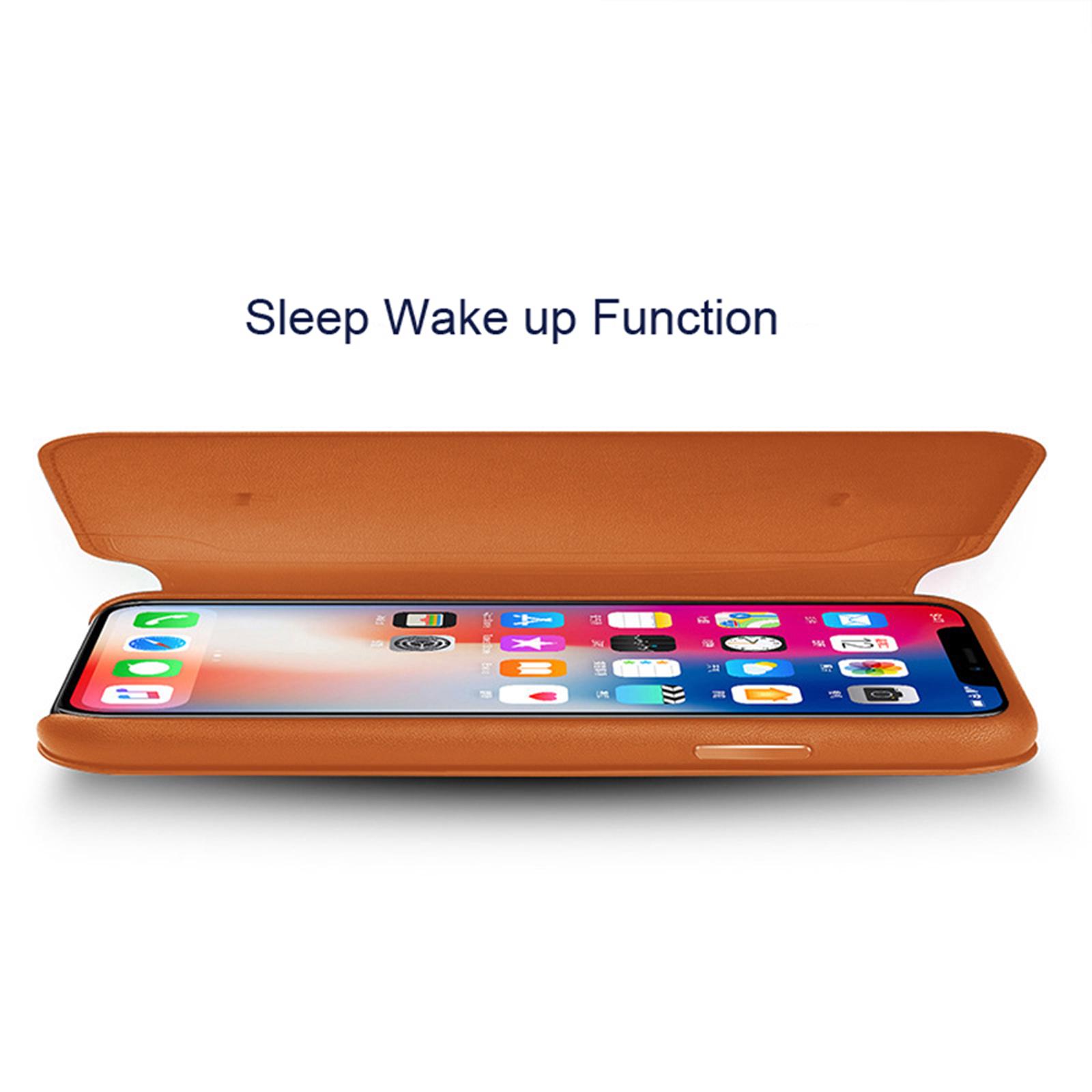 Nouveau-cuir-flip-portefeuille-Folio-Telephone-Etui-Housse-Pour-Apple-iPhone-11-Pro-Max-Xs-XR miniature 11