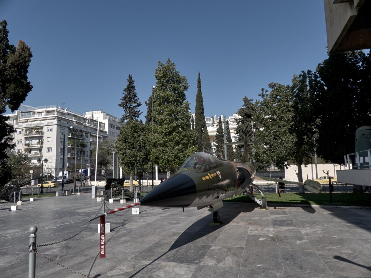 Museo de guerra Atenas
