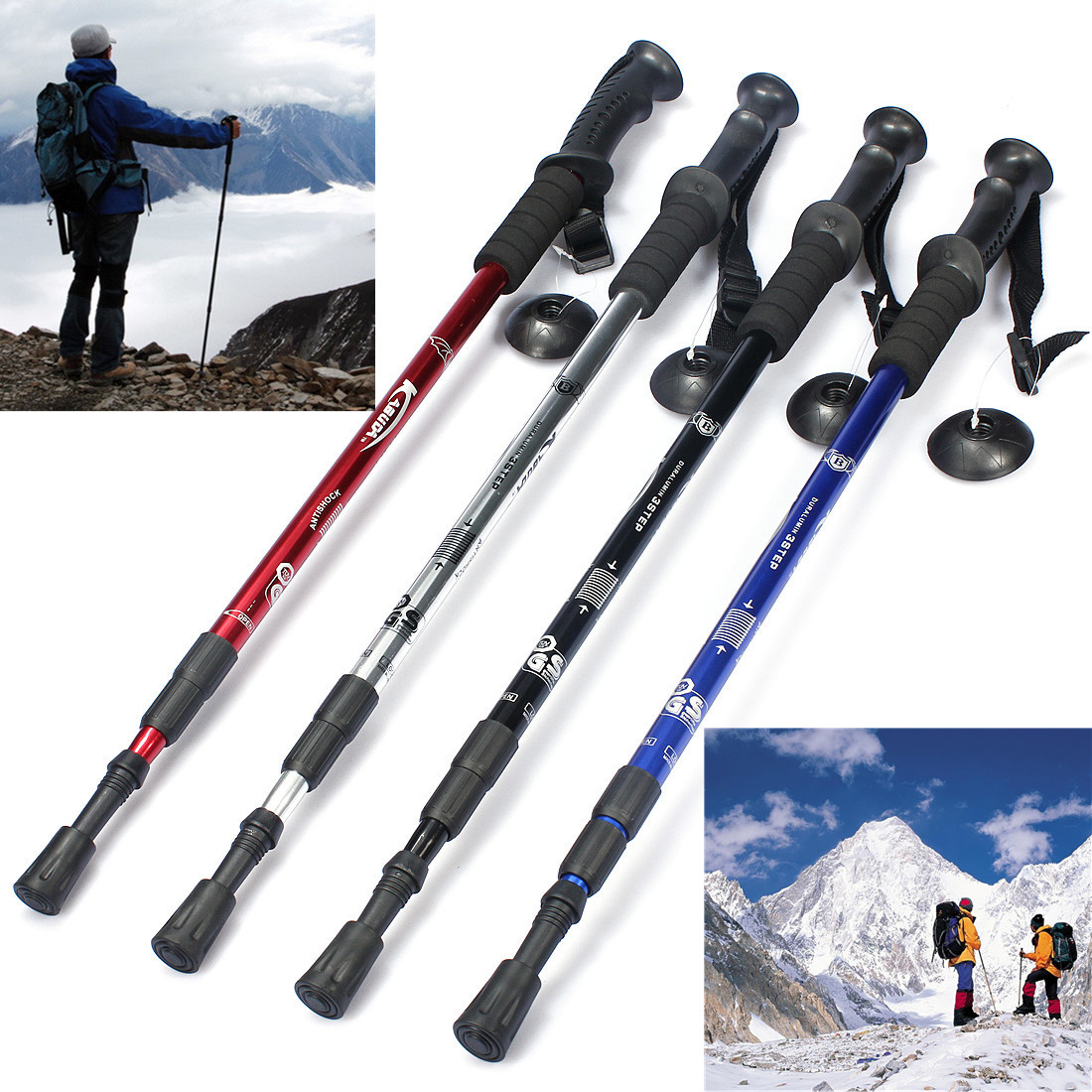 Other Gadgets Ipree 3 Section Adjustable Canes Walking