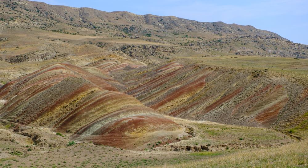 Geologische pareltjes op weg naar Davit Gareja