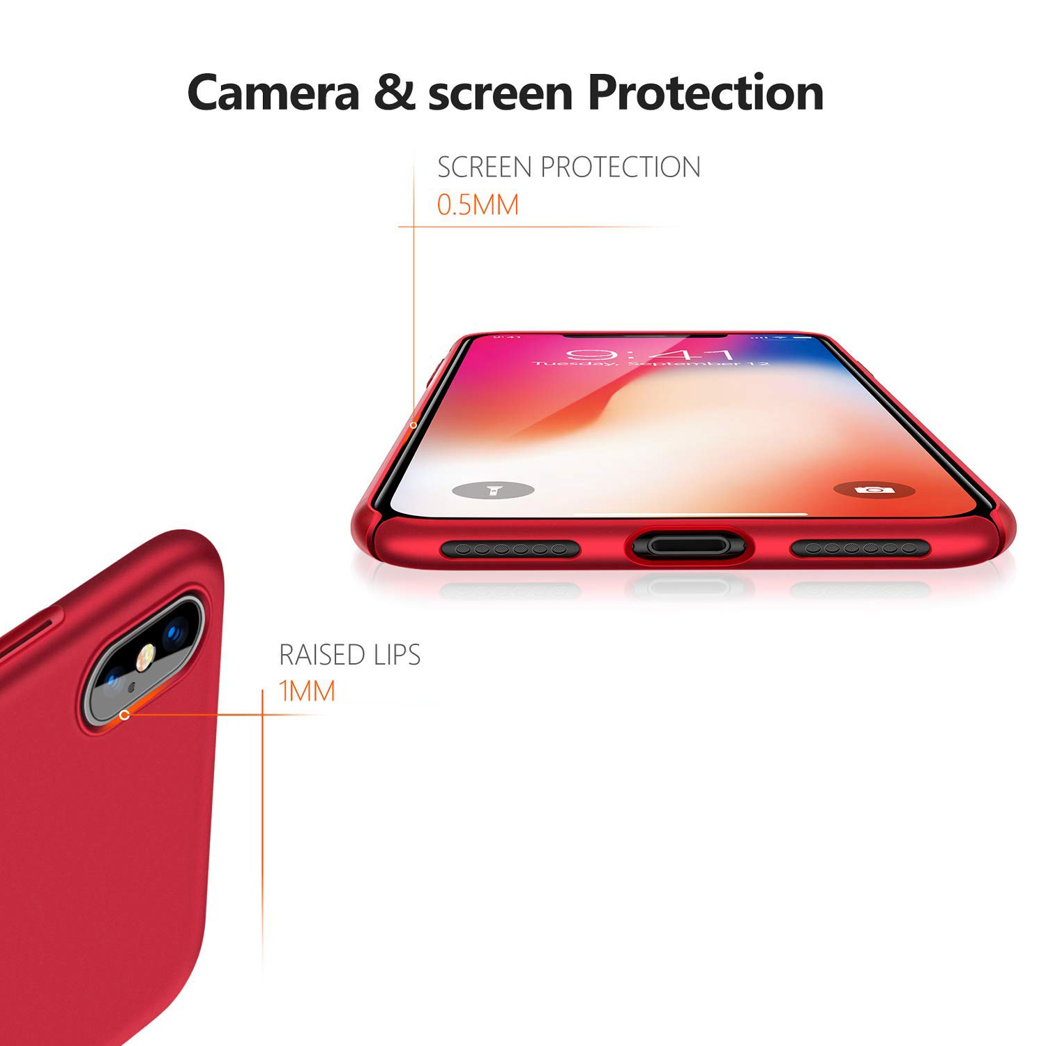 Thin-Slim-Hard-Case-Tempered-Glass-Cover-For-Apple-iPhone-X-XS-XR-Max-10-8-7-6s miniatuur 28