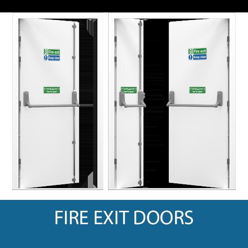 Steel Fire Exit Doors