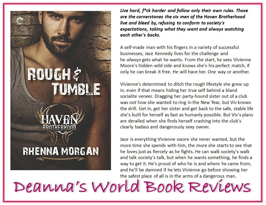 Rough & Tumble by Rhenna Morgan blurb