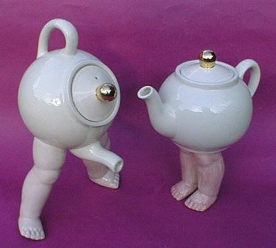 Прикольные картинки про чайники