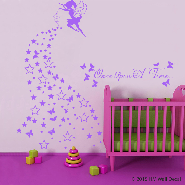 fairy kids nursery wall sticker