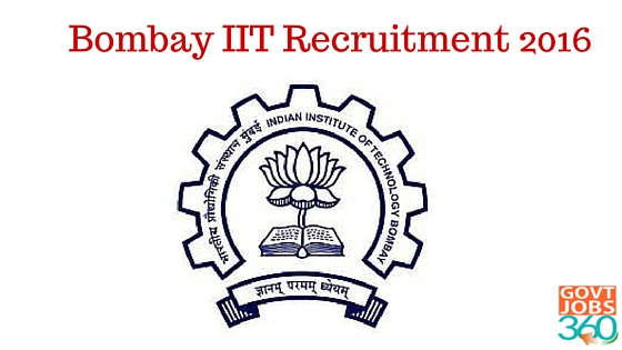 IIT recruitment 2016 Administrative superintendent jobs in Bombay
