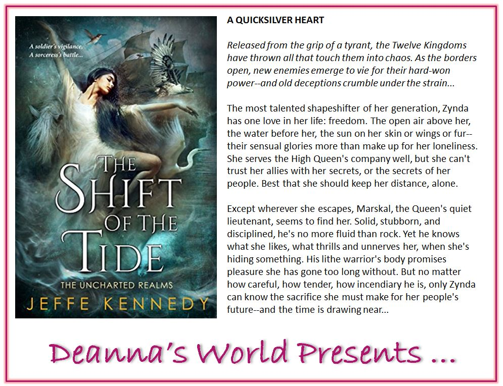The Shift of the Tide by Jeffe Kennedy blurb