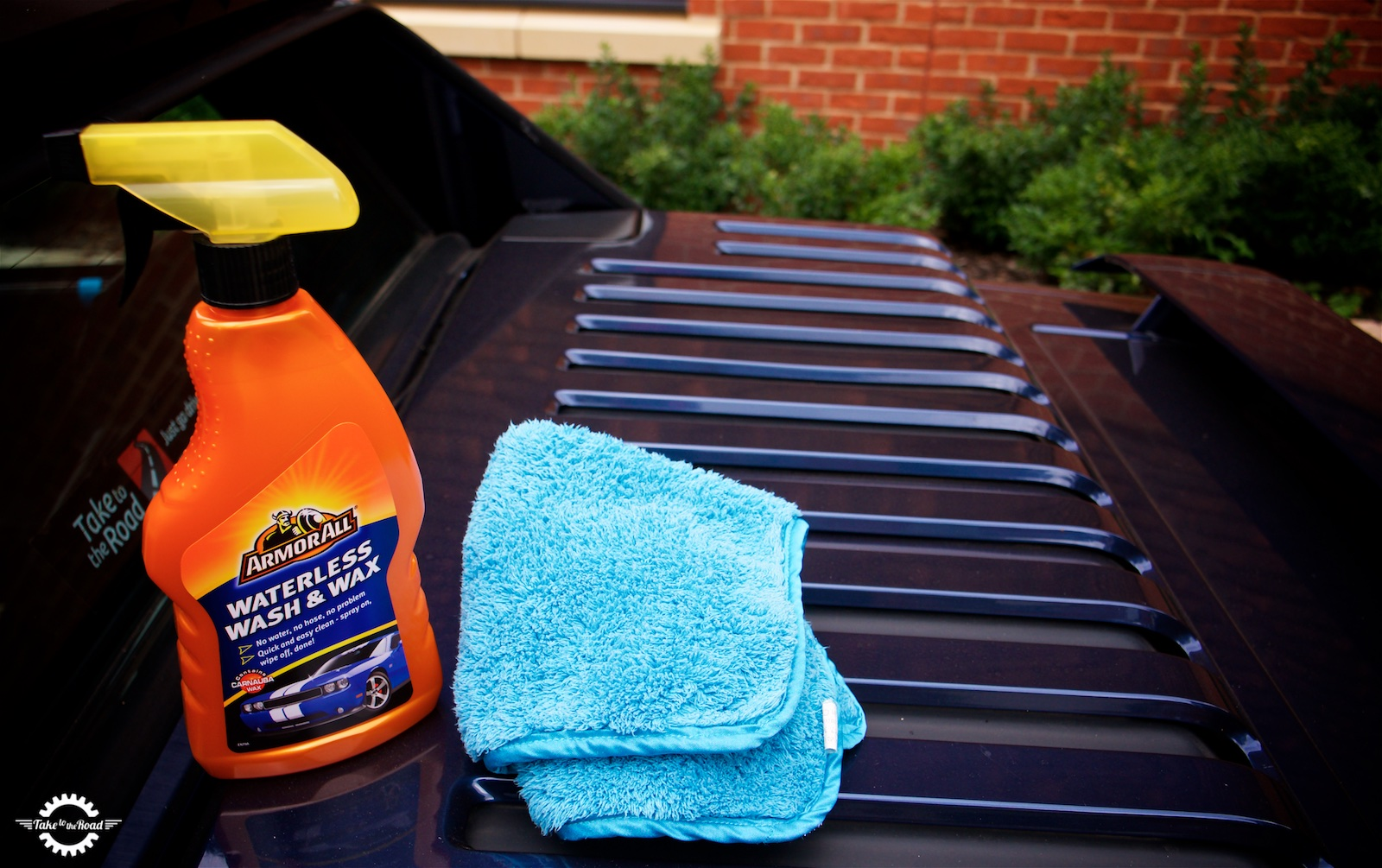 Take to the Road Armour All Waterless Wash and Wax Product Test