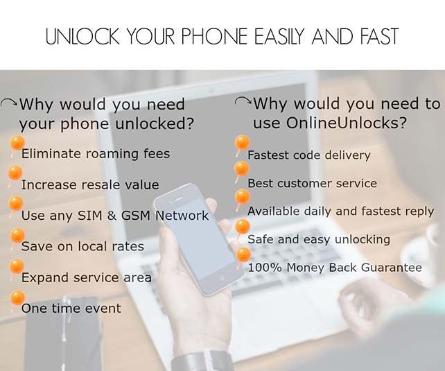 Onlineunlocks is the best choice for all your phone unlock needs!