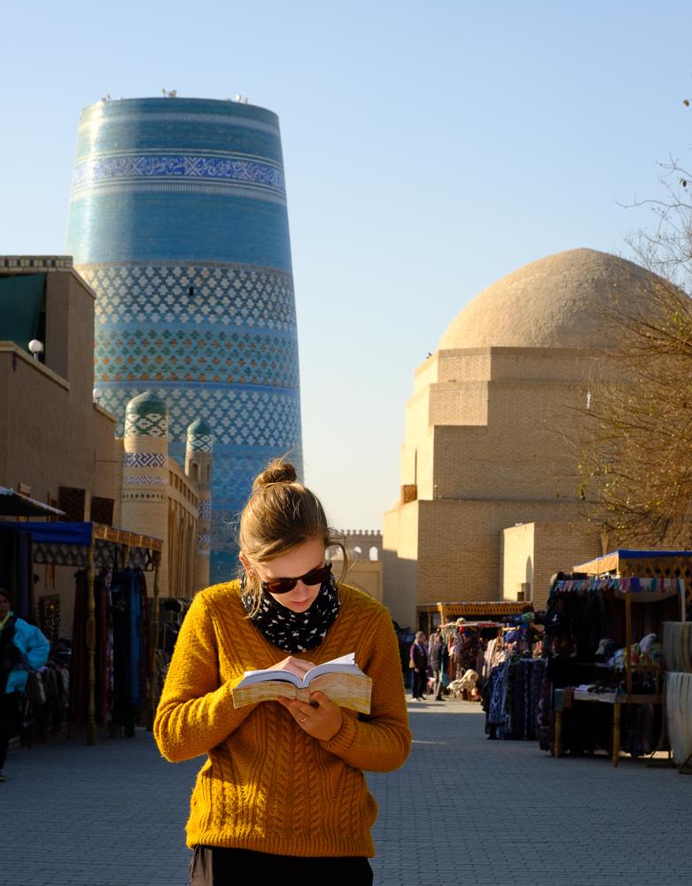 Waar zijn wij nu eigenlijk? Er zou ergens een blauwe minaret moeten zijn, zie jij die ergens?