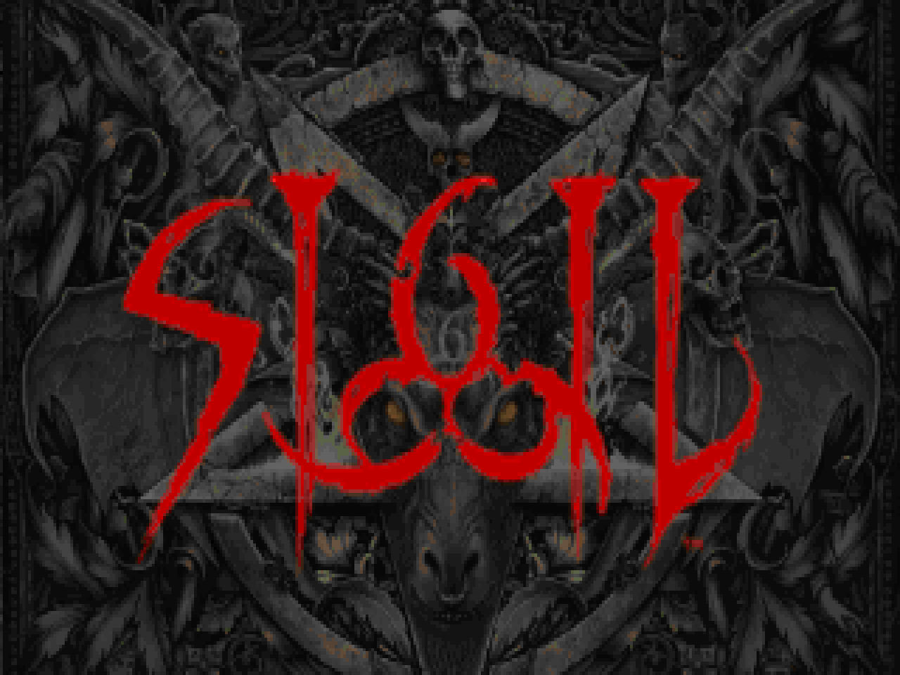 The TITLEPIC / title screen for SIGIL.
