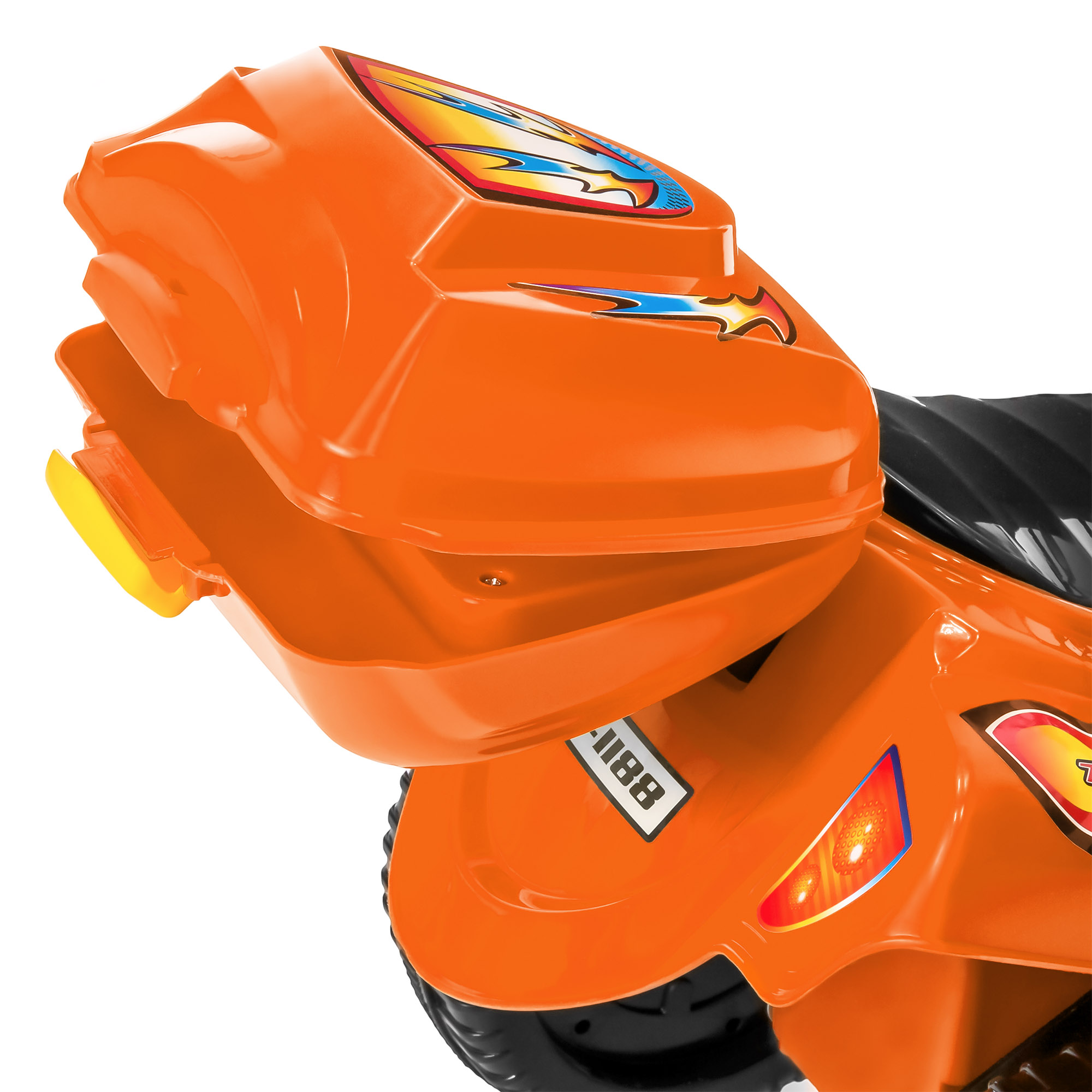 BCP-6V-Kids-3-Wheel-Motorcycle-Ride-On-Toy-w-LED-Lights-Music-Storage thumbnail 22