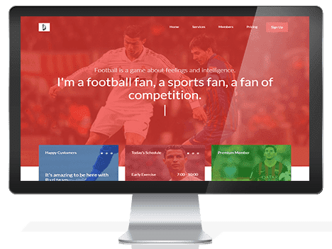 Bazi – Free OnePage Sport Landing Template