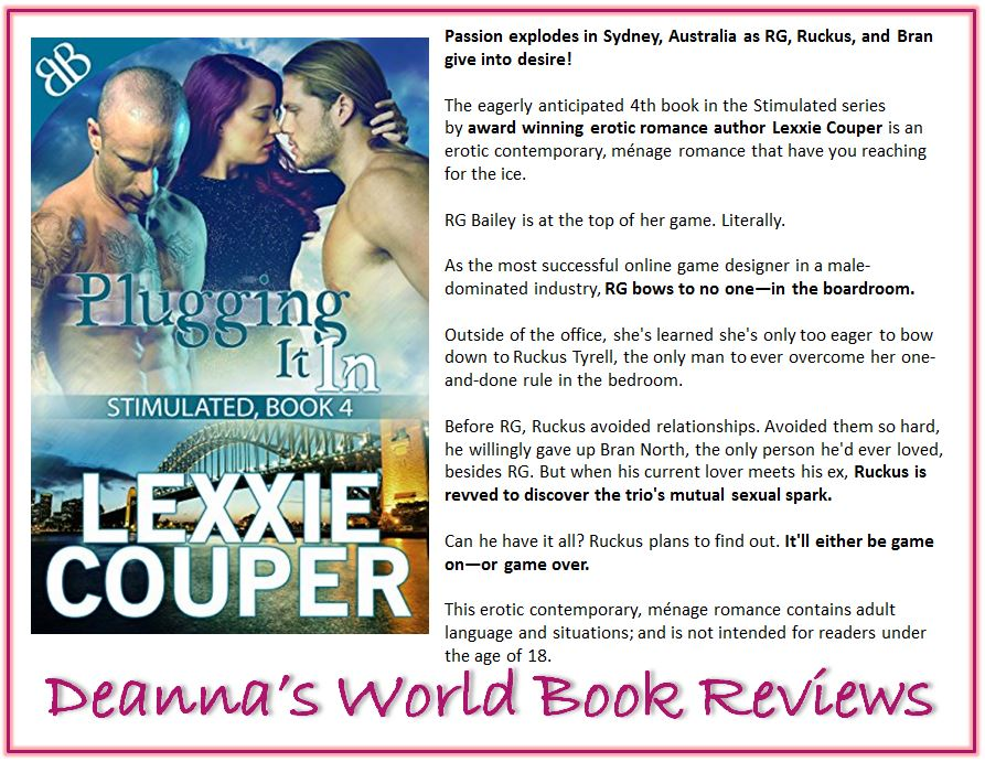 Plugging It In by Lexxie Couper blurb