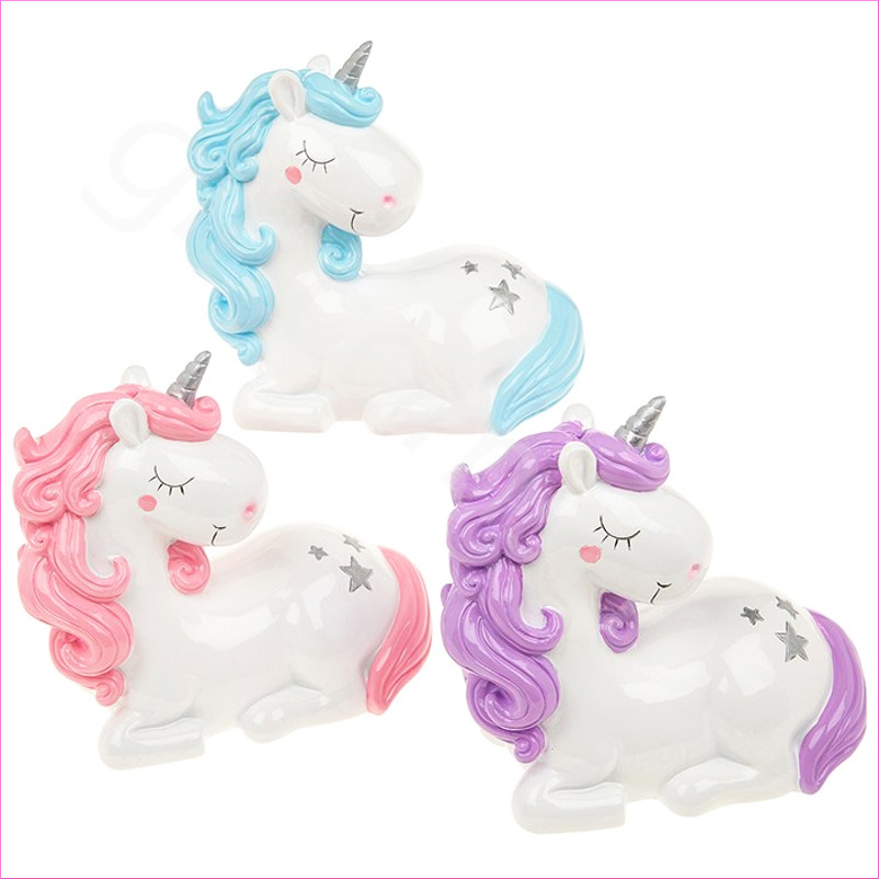 Unicorn Piggy Bank Money Box Coin Storage Savings Novelty