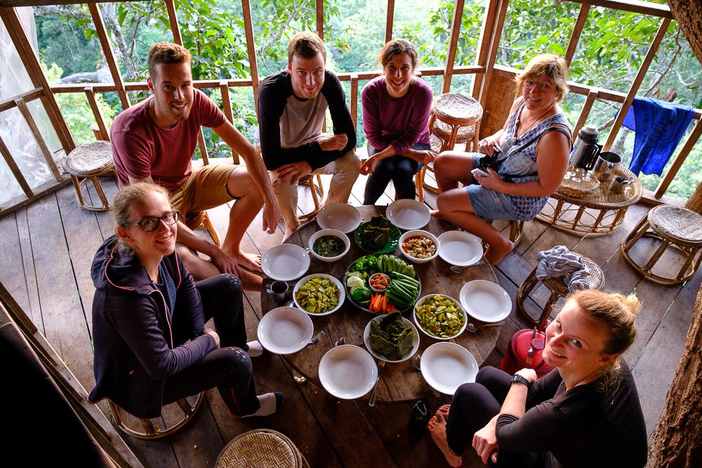 Goed gezelschap en goed eten!