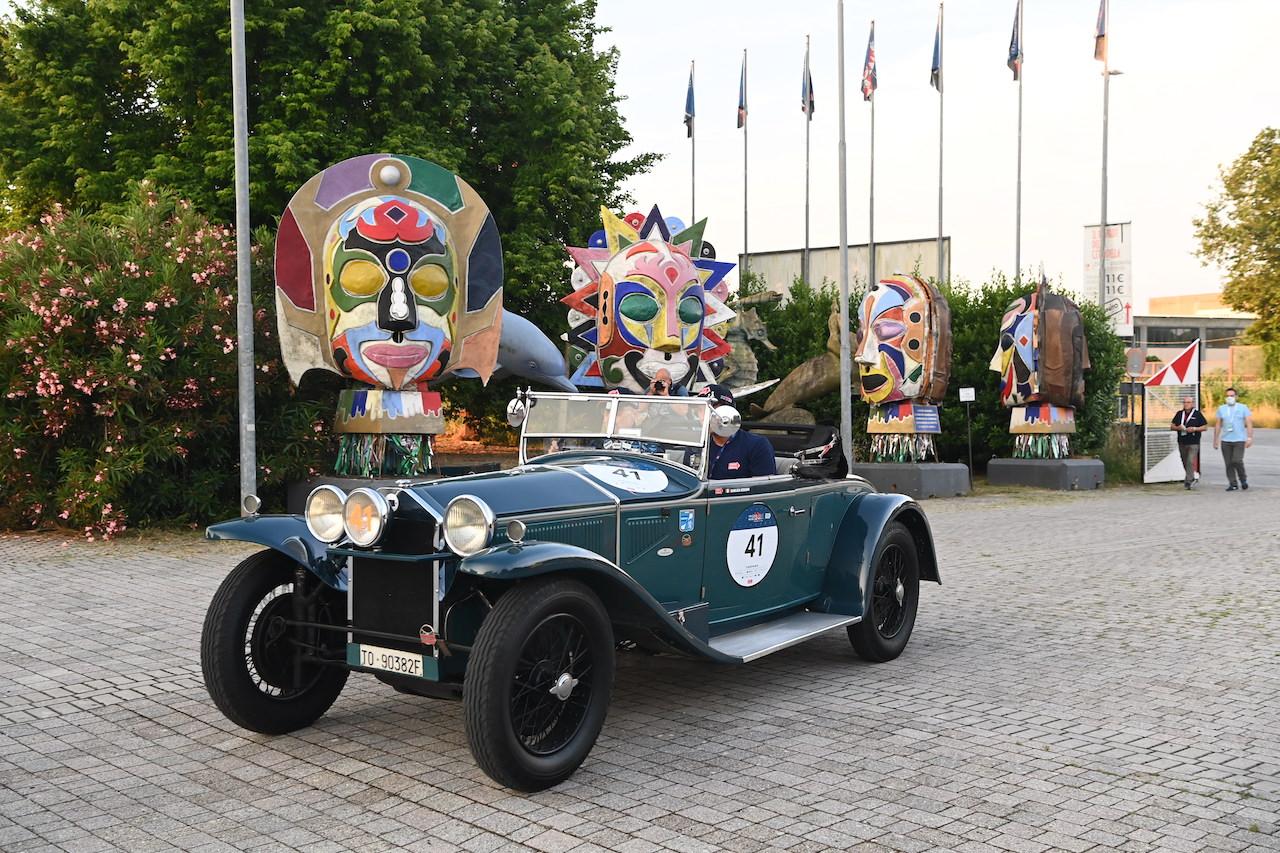 1929 Alfa Romeo 6C 1750 Super Sport wins Mille Miglia 2021