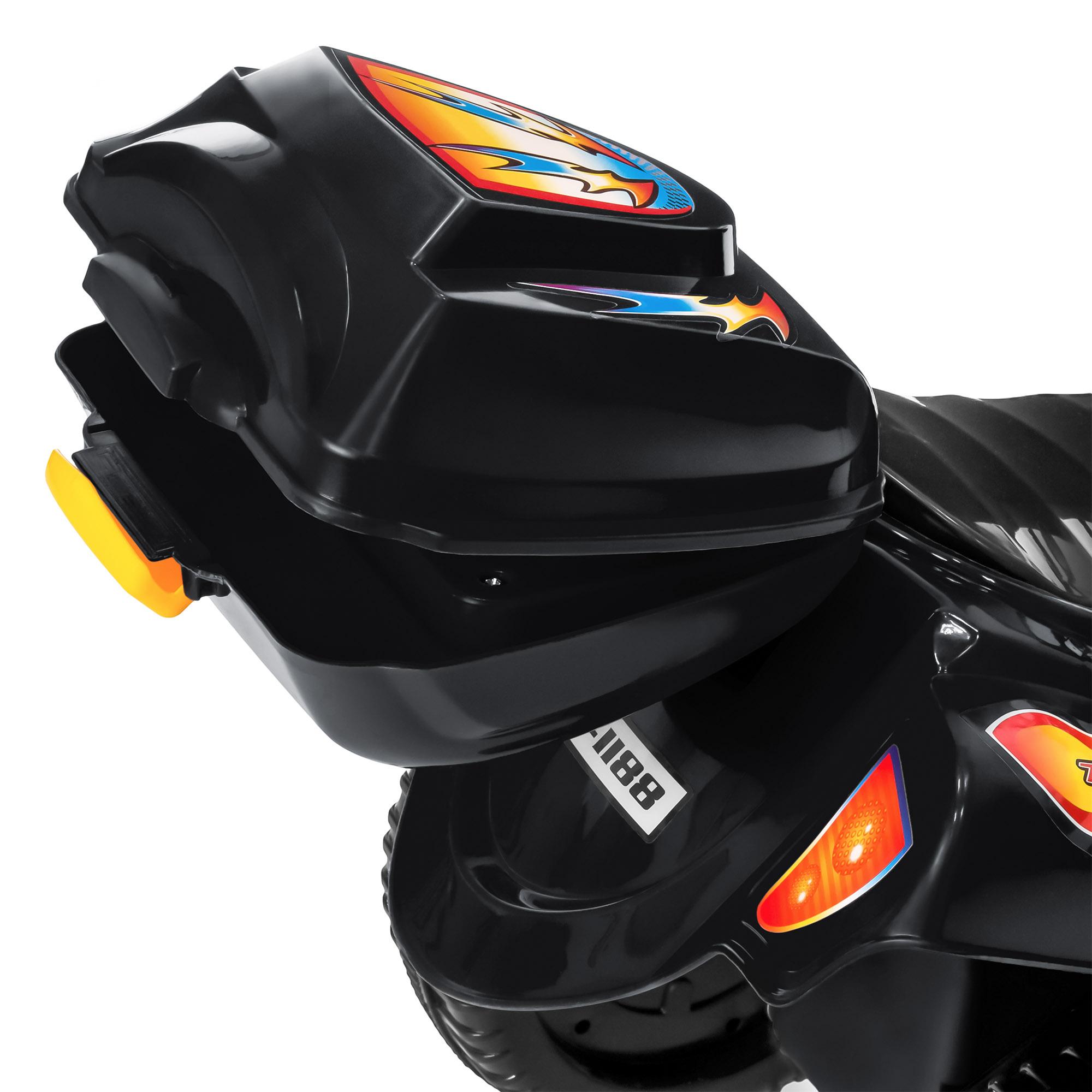 BCP-6V-Kids-3-Wheel-Motorcycle-Ride-On-Toy-w-LED-Lights-Music-Storage thumbnail 10