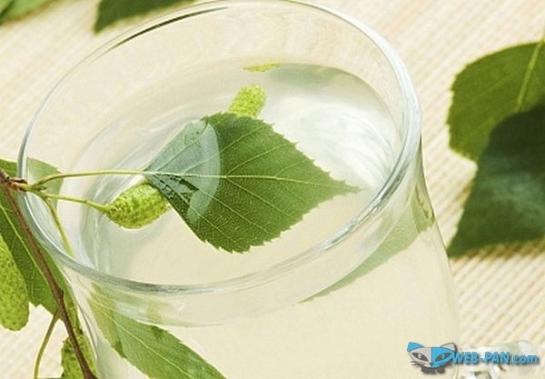 Пью много березового сока (сок из берёзы), для печени и почек очень полезно, и вкусно!