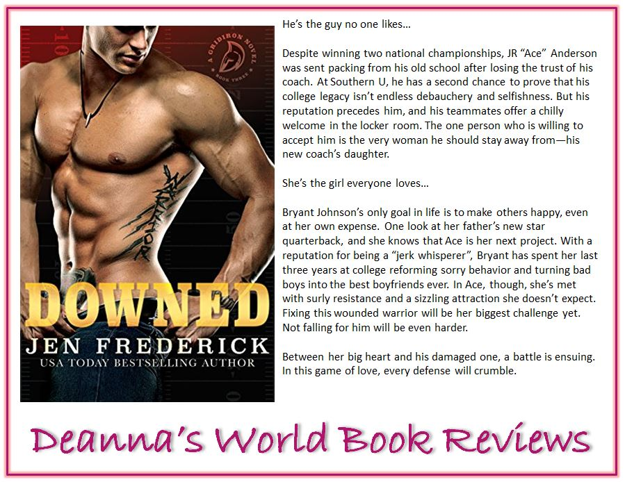 Downed by Jen Frederick blurb