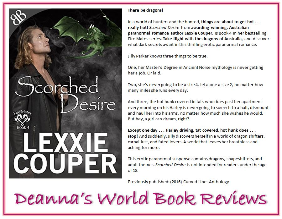 Scorched Desire by Lexxie Couper blurb