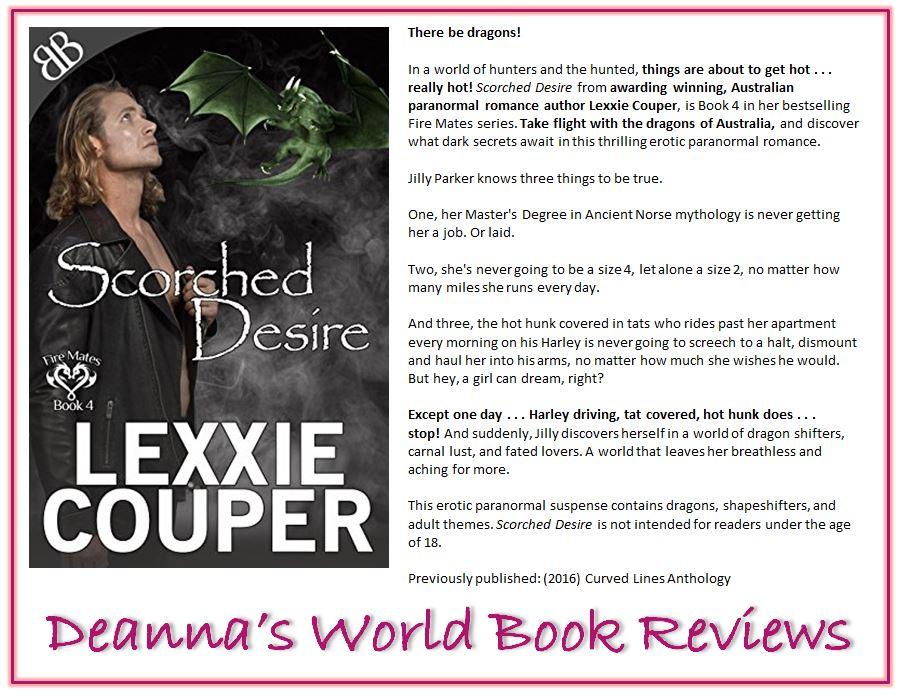 Scorched Desire by Lexxie Couper blurb